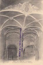 LA VOULTE 1477 le château le plafond du grand escalier d'honneur