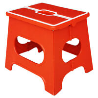 Strong Plastic Multi Purpose Folding Step Stool Home