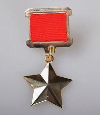 Russia URSS MEDAGLIE MEDAGLIA eroe dell'Unione Sovietica CCCP!