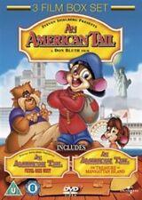 An American Tail/Fievel Goes West/The Treasure of Manhattan Island  [DVD], DVD |