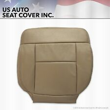 2005 2006 Ford F-150 Passenger Bottom Replacement Leather Seat Cover Tan