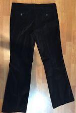 Designer THE LIMITED Drew Fit Black Velvet 4 Pocket Dress Pant Size 10 MSRP $78