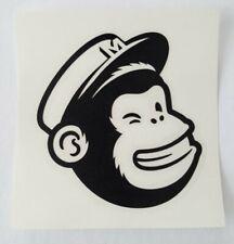 Mailchimp Decal - Sticker Freddie Icon Wink Chimp Monkey Email Internet Mail