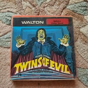 Super 8 / 8mm Film - Twins Of Evil (Extract)