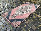 Handmade rug, Runner rug, Turkish rug, Vintage rug, Wool, Carpet | 2,8 x 6,0 ft