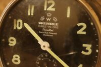 Vintage WEHRLE 1960's Alarm Clock 3 in 1 Clock Repeater & Striking. GERMANY #68