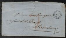 1858, SWEDEN, FINE COVER TO HAMBURG, SEE!!