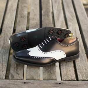 The Wingtip Golf Shoe Model 8004 from Robert August w/ Shoe Trees Included