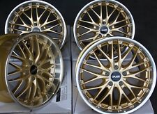 "ALLOY WHEELS X 4 19"" GOLD 190 FOR BMW 1 3 SERIES E36 E46 E90 E91 E92 Z3 Z4 M12"