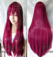 "40""100 rose New Fashion Womens Long Straight Anime Cosplay Party Full Wig"