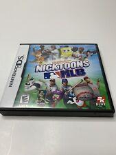 Nicktoons SpongeBob MLB (Nintendo DS, 2011) Complete With Manual EXCELLENT