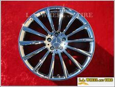 Mercedes Benz S550 Amg 20 Set Of 4 Oem New Chrome Wheels Rims 85353