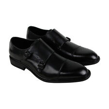 Unlisted by Kenneth Cole Learning Piano Mens Black Dress Monk Strap Shoes 11