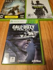 New ListingXbox 360 Video Games Lot Of 3 Call Of Duty, Halo