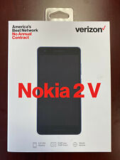 Nokia 2V TA-1136 8GB Smartphone Verizon Wireless GSM Unlocked Cell Phone - Blue