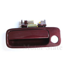 OutSide Door Handle Front Left Burgundy 3N6 for 97 98 99 00 01 Toyota Camry