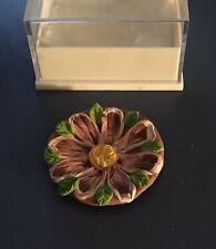 NEW Dollhouse Miniature 1:12 Purple Flower Decorative FIMO (Clay) Plate