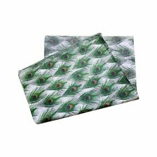 Pack of 240 Pc Peacock Tissue Animal Pattern Print Tissue Paper Gift Wrapping