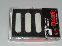 Seymour Duncan AS-1 Blackouts Singles Set for Strat WHITE   New with Warranty
