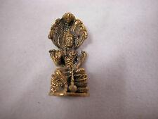 "Dollhouse Miniature 1:12 Scale 1"" Buddha Budda Buddah Buda Statue Metal #Z0146"