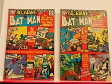 Batman # 187, 193...   silver age lot of two 80 page Giants silver age 1967