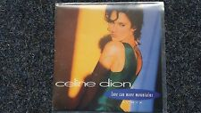 """CELINE DION-Love Can Move Mountains 7"""" single promo spain"""