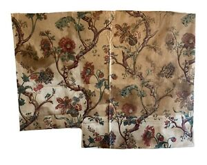 Rare Beautiful late 18th/early 19th cent French cotton printed fabric 2855