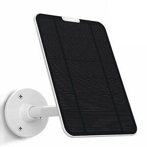 4W Solar Panel for Ring Video Doorbell 1(1st&2nd Gen(2020 release)Aluminum mount