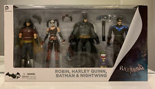 Arkham City, Robin,Harley Quinn, Batman,Nightwing, 4 Pack, DC Collectibles, MISB