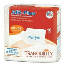 Tranquility Air-Plus Breathable Underpad 30'' X 36'' 40 Pads/1 Case Max Protect