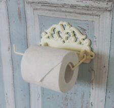 Toilettenpapierhalter weiß vintage im antique Shabby Chic Stil