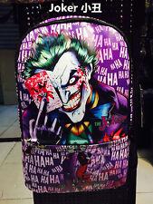 DC Comics Marvel Comics Batman joker bag cosplay Backpack shoulder school Bag