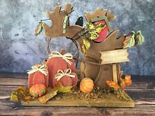 Welcome To Our Pumpkin Patch Wood Halloween Decoration Fall Holiday Decor 8""