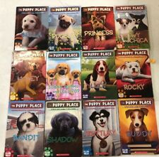 Lot of 8 Puppy Place Books! Popular Kids Series! Free shipping!