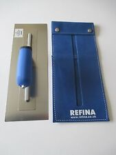 "Refina Superflex Trowel 14"" complete with leather trowel holder"