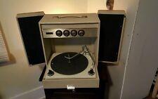 1960s  Motorola Portable Record Player-Turntable w/Speakers power cord VERYRARE!