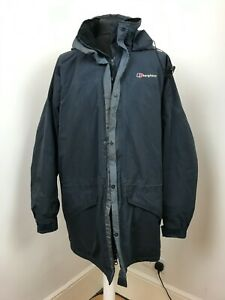 Berghaus Jacket Winter Ski Rain Jacket Navy Walking Windproof Size XL