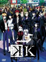 The Animation K Anime DVD Ship from USA