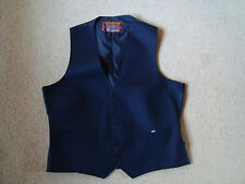 Wool Striped Casual Waistcoats for Men
