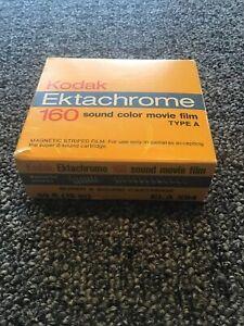 Kodak Ektachrome 160 Sound Color Movie Film Type A Super 8 NIB 1985 Vintage