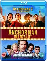ANCHORMAN COMPLETE SERIES 1 & 2 Blu-ray First Second Season Will Ferrell NEW  R2