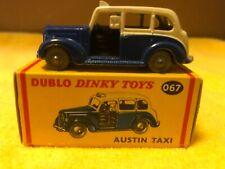 Dinky Dublo #067 Austin Taxi