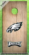 Philadelphia Eagles Corn Hole Bag Toss High Quality Decals HD - Full Set