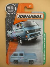 MATCHBOX  VOLKSWAGEN TRANSPORTER CAB IN BLUE 95/125