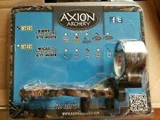 New in the Box Axion Archery Vue Sight 7 Pin Lost Camo Aaa-2707Lc