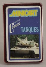 1974 Naipes Comas cards - TANKS - Spanish FULL mini deck (24 cards)