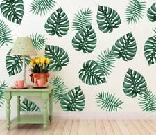 DIY Tropical Beach Palm Leaves Wall Sticker Modern Art Decal Vinyl Mural 79x58cm
