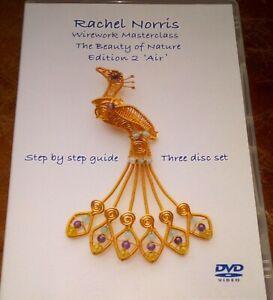 Rachel Norris Wirework Masterclass Edition 2-(3 Disks) DVD Guide Designs