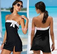 Womens Summer Beach Bikini Cover Up Sarongs Wrap Dress Size 4 6 8 10 12 14
