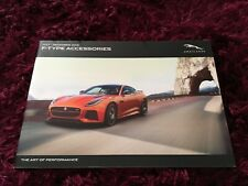 Jaguar F-Type Accessories Brochure 2017 - July-Dec 2016 UK Issue